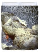 Not Your Average Swimming Hole 3  Duvet Cover