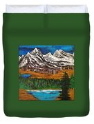 Number Four - Call Of The Wild Duvet Cover