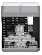 Nyc In Black And White Xiii Duvet Cover