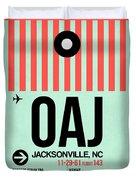 Oaj Jacksonville Luggage Tag I Duvet Cover