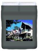 Oak Bluffs Martha's Vineyard Duvet Cover