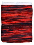 Ocean Abstract Duvet Cover