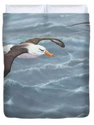 Ocean Flight Seabirds By Alan M Hunt Duvet Cover