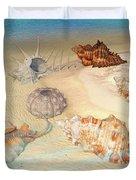 Ocean Shells Duvet Cover