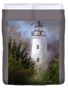 Ocracoke Light Duvet Cover