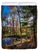 October Late Afternoon Duvet Cover by Kendall McKernon