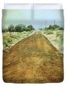 Ode To Country Roads Duvet Cover