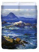 Off Mission Point Aka Point Lobos Duvet Cover