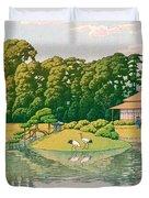 okayama kourakuen - Top Quality Image Edition Duvet Cover