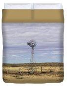 Oklahoma Windmill Duvet Cover