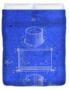 Old Ant Trap Vintage Patent Blueprint Duvet Cover