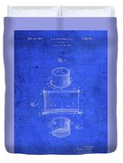 Old Ant Trap Vintage Patent Blueprint Duvet Cover
