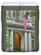 Old City Hall Of Boston Duvet Cover