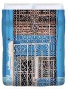 Old Door In Havana Duvet Cover