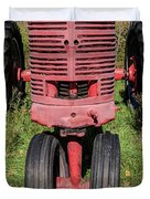 Old Farmall Vintage Tractor Springfield Nh Duvet Cover