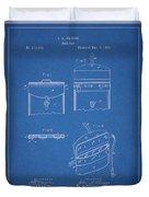 Old Post Office Mail Bag Duvet Cover