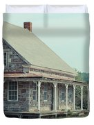 Old Stone Farm House Newbury Vermont Duvet Cover