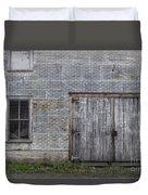 Old Trackside Warehouse Duvet Cover