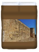 Oldest Castle Of Castro Marim Duvet Cover