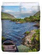On A Lake Of Blue Duvet Cover