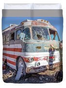 On Location Photographer Edward Fielding In Jerome Arizona Duvet Cover