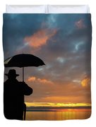 On The Edge Of Time Duvet Cover