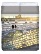 On The Ice Duvet Cover