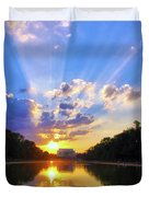 On The Lord's Side Duvet Cover