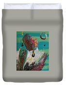 Once Upon A Planet Duvet Cover
