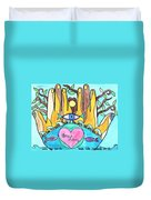 One Love One Earth Duvet Cover
