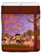 Opryland Hotel Christmas Duvet Cover