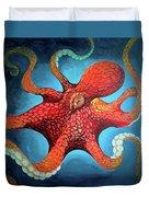 Optical Octopus Duvet Cover
