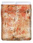 Orange Day Today Duvet Cover
