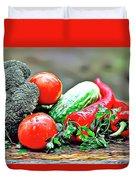 Organic Veg Duvet Cover
