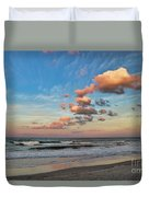 Ormond Beach Sunset Duvet Cover