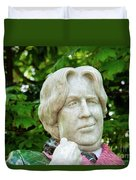 Oscar Wilde Statue One  Duvet Cover