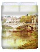 Over The Tiber Duvet Cover