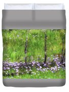 Overcome With Beauty Duvet Cover by Rick Furmanek