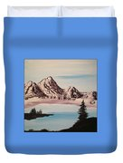 Overlooking The Lake Duvet Cover