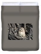 Owl In A Tree Duvet Cover