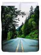 Pacific Northwest Road Duvet Cover