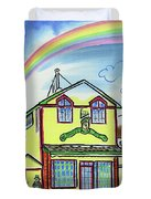 Paddy's Pub Duvet Cover