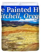 Painted Hills 01 Duvet Cover