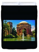 Palace Of Fine Arts Lagoon Duvet Cover