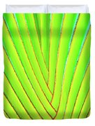Palms And Fronds - Hawaii Duvet Cover