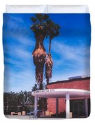 Palm Springs City Hall Duvet Cover
