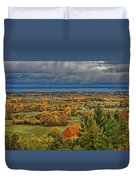 Panoramic Autumn View Duvet Cover