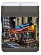 Paris Cafe Duvet Cover