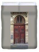 Paris Door Duvet Cover