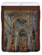 Parrocchia Santa Maria In Vallicella Duvet Cover